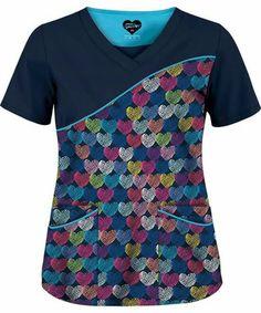 Scrubs Outfit, Scrubs Uniform, Scrubs Pattern, Cute Scrubs, Neck Designs For Suits, Womens Scrubs, Medical Scrubs, Nursing Clothes, Scrub Tops
