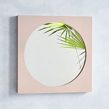 A modern approach to mirrors, our Curved Cutaway Floor Mirror feels like a piece of art with its circular cutout in a pale blush frame. It's a playful way to add light and colour to any room. Wall, Spring Decor, Entryway Mirror, Space Interiors, Cool Mirrors, Fireplace Seating, Mirror Wall, Blush Bedroom, Turkey Decor