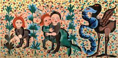 The second-hand life lessons of artist Mirka Mora — Extraordinary Routines Jewish Museum, Visual Diary, Diy Frame, Museum Of Modern Art, Whimsical Art, Word Art, Flower Art, Life Lessons, Framed Art