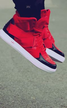 adidas Originals C-10: Red. They would be great in all white!!