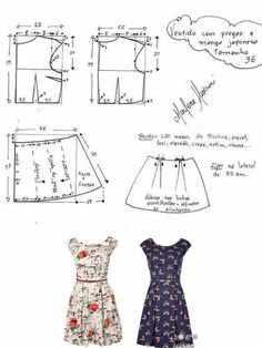 Patrones – Source by DressesModelos y Patrones – Source by Dresses Sewing Skirts Мы думаем, что вам могут понравится эти пины Easy Sewing Patterns, Clothing Patterns, Dress Patterns, Plus Dresses, Retro Dress, Dressmaking, Pretty Dresses, Polyvore, Sewing Clothes