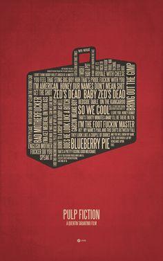 "Pulp Fiction by Jerod Gibson ART PRINT / MINI (7"" X 10"") $17.00"