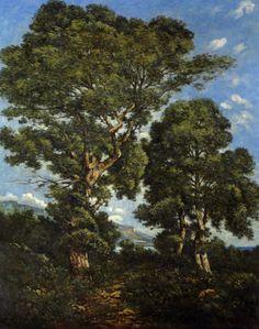 Henri-Joseph Harpignies.  One of my favorite paintings by one of my favorite painters.