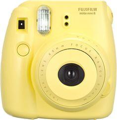 Fujifilm-instax-mini-8-Instant-Film-Camera-Yellow Instax Mini 8 Camera, Poloroid Camera, Fujifilm Instax Mini 8, Polaroid Instax, Film Polaroid, Instax 8, Leica Camera, Appareil Photo Fujifilm, Camara Fujifilm