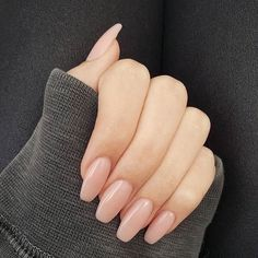 Pretty in blush nails