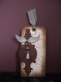 Rusted Grunge Tag created by Christie Hund aka Creations by Christie