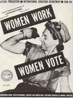 women work, women vote