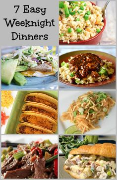 7 quick and easy weeknight dinner recipes