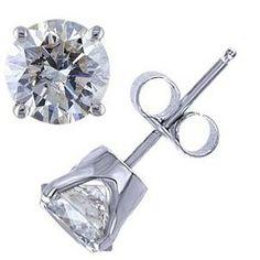 Echte Diamantohrstecker von www.Pearlgem.de für nur 109.00 Euro (Versandkostenfrei)