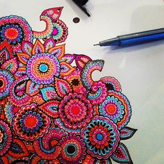 India colors doodle Looking for sketch ideas zentangle