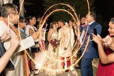 Some sparkler art for the lovely couple! Arionne and Ryan's wedding at Little Gardens was a blast. The wedding guests had so much fun, and the bride and groom were surrounded by so much love. This venue is located in Lawrenceville, Georgia! Lawrenceville Georgia, Wedding Exits, Glass French Doors, Little Gardens, Outdoor Ceremony, Sparklers, Groom, Reception, Bride