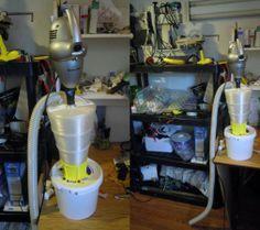 3D Printed Cyclone Dust Separator