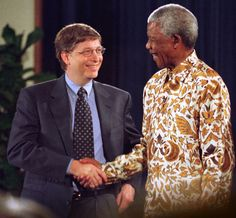 With Bill Gates