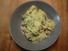 here it is: the new recipe of the day with asparagus! #asparagus #pasta #lovelyitalianfood asparagus tagliatelle