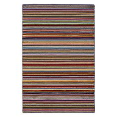 Buy John Lewis Rosie Bright Stripe Rug, 300 x 200 Online at johnlewis.com