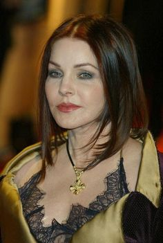Actress Priscilla Presley arrives at the final of 'UK Music Hall Of Fame' the Channel 4 series looking at popular music from the 1950's to the 1990's...