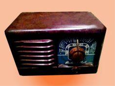 Antique BAKELITE vintage PACKARD BELL 1949 VACUUM TUBE retro RADIO rare Model501