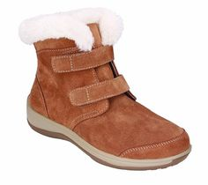Ruaitoo Womens Fur Lined Winter Trekking Shoes Lace Up Warm Wedge Platform Shoes