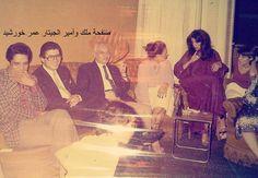 محرم فؤاد و عمر خورشيد و زوجته مها ابو عوف