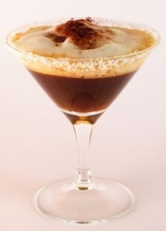 Espresso martini. One of my fav martinis! Perfect dessert:)
