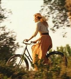 Women in tights. Women on bikes. — Biking in the summer evening Lily Evans, Anne Of Green Gables, Retro, Character Inspiration, Photoshoot, In This Moment, Lady, Beauty, Beautiful