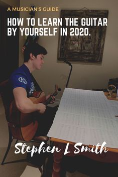 Learning the Guitar by yourself, Guitar for beginners! Learn Guitar Chords, Guitar Chords Beginner, Learn To Play Guitar, Guitar For Beginners, Ukulele Tabs, Guitar Books, Music Guitar, Playing Guitar, Learning Guitar