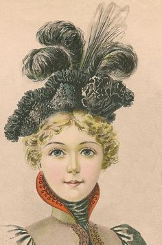 Young Ladies' Hat March 1898