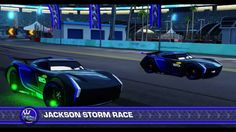 Cars 3: Driven to Win Jackson Storm vs Jackson Storm