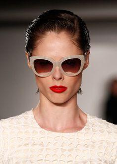 Coco Rocha in Zac Posen - Runway - Mercedes-Benz Fashion Week Spring 2015