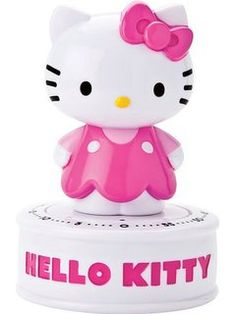 Sanrio 95006 Hello Kitty Wind Up 60 Minute Kitchen Timer