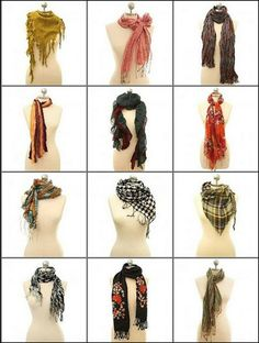 12 Trendy Ways to Tie A Scarf for Winter