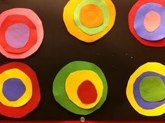Tracing/cutting art project. This is a great blog for many art projects P-K.