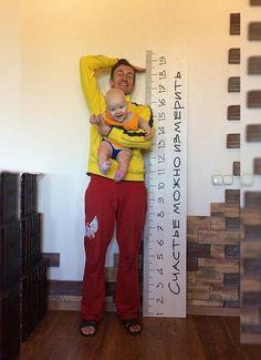 Именная линейка-ростомер от Weralav #growthchart #baby #ruler #babyruler #woodwork #wooden #diy #babydecore #decore #growth #chart #ростомер #линейка #декор #детская