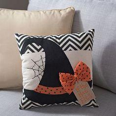 Witch's Hat Halloween Pillow | Kirklands