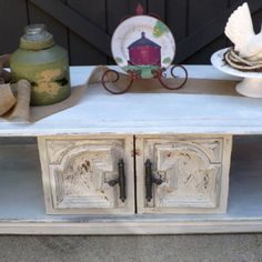 Coffee Table, Upcycled 1971 table with storage from Julies Box for $75.00