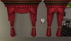 "earlypleasantview: "" http://simfil.es/95594/ Indulgence and Over-Indulgence Curtains from TS4 converted to TS2 as requested by @alexbgd I forgot the exact poly count, but it's less than 350 for each, and the exact figure is included in the..."