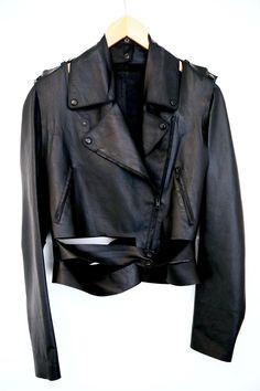Maison Margiela Final Drop! Deconstructed Biker Jacket Size Xs $1327 - Grailed