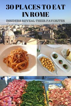 Traveling to Rome, Italy? Then you'll find this list of 30 places to eat in Rome handy thanks to tips by insiders   BrowsingRome