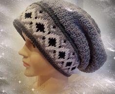 Lothepus nr 12 Knitted Hats, Winter Hats, Beanie, Knitting, Fashion, Velvet, Moda, Tricot, Fashion Styles