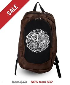 Hey, I found this really awesome Etsy listing at https://www.etsy.com/listing/247438812/sale-20-off-clock-backpack-roomy