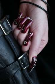 gothic nail art designs - Bing Images