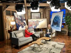 Teshia live on Park City TV Painting Gallery, Art Gallery, Original Artwork, Original Paintings, Park City, Main Street, Fine Art, The Originals, Galleries