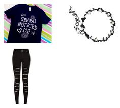 """School Outfit"" by fluffykitteh13 on Polyvore"