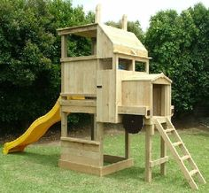 Wood Playground Diy