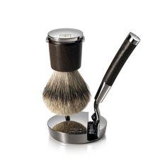 Shaving Stand with Razor  Brush