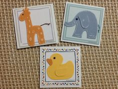 Cartōes com animais / Animal cards