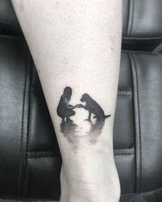 """177 Me gusta, 10 comentarios - David Muñoz (@david.ensutintaestudio) en Instagram: """"Resumen de una gran foto, Cristina y su perrito Toy. #tattoo #tattooing #inkstagram…"""""""