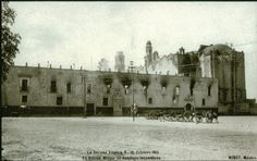 La carcel de Tlatelolco durante el periodo conocido como la decena tragica