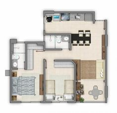 Porch House Plans, Container House Plans, Apartment Plans, Workshop, Floor Plans, How To Plan, Studio, Architecture, Space