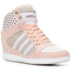 huge discount b71ce 39291 adidas NEO Super Wedge Sneaker Womens Moda, Zapatillas De Deporte De Cuña,  Zapatos Deportivos